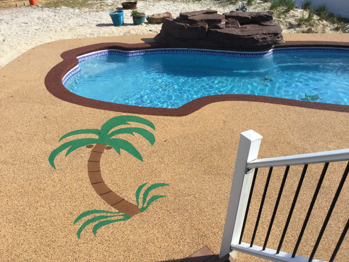 Custom Flooring, Outdoor surfacing, designs delaware