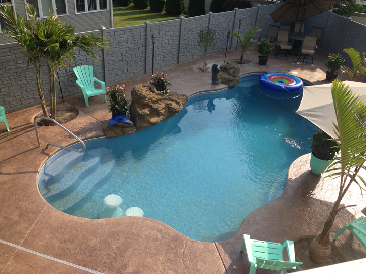 Fiberglass Pools Delaware, Milton, Lewes, Milford, Rehoboth, Bethany Beach, Georgetown, DE