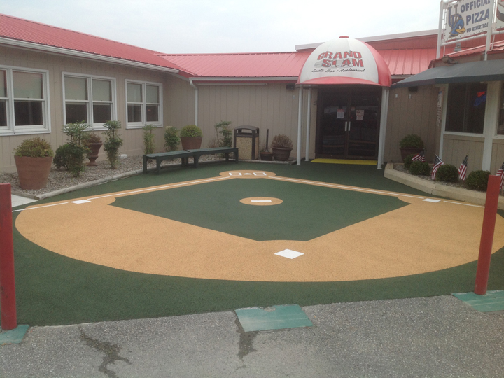 Outdoor Designs, rubber basball field, surface