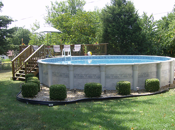Above ground pools pools spas unlimited inground for Above ground fiberglass pools