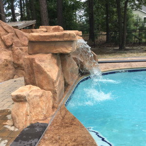 Custom Inground Concrete Pools