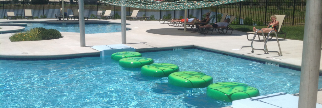 Pools, rafts, pool clubhouse, rope walkways, lewes, rehoboth beach, bethany beach
